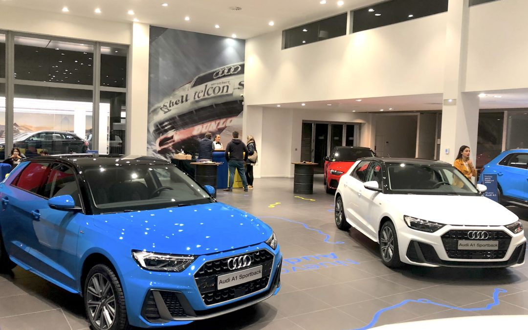 Evento Audi Presentación nuevos A1 y Q3