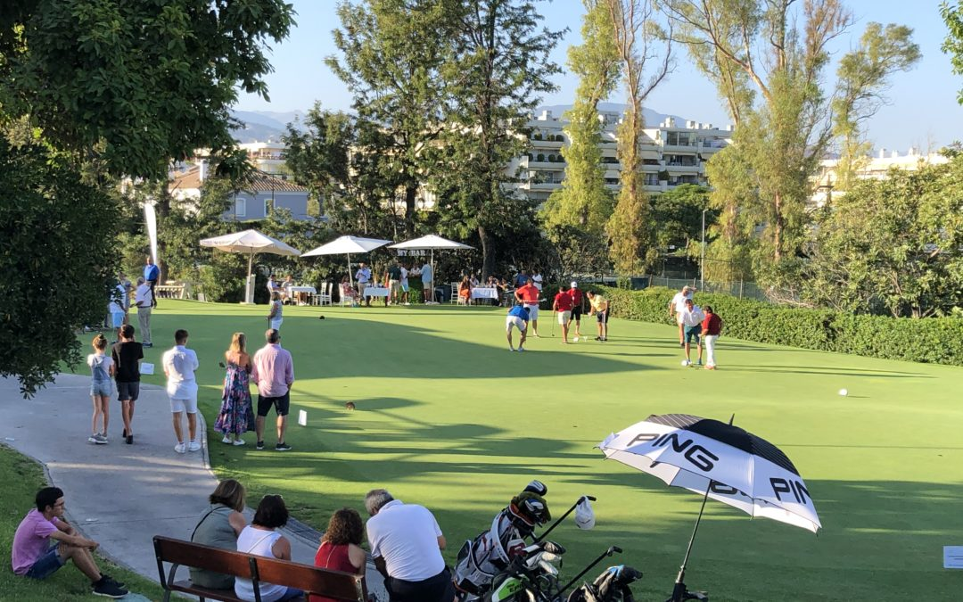 """I Copa Putting green My Bar"" en Real Club de Golf Gualdalmina"